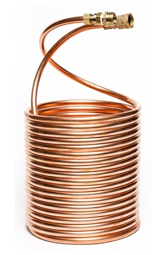 copper wort chiller