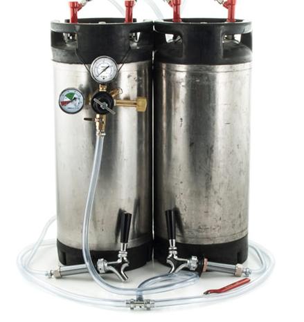 diy kegerator kit homebrew kegs