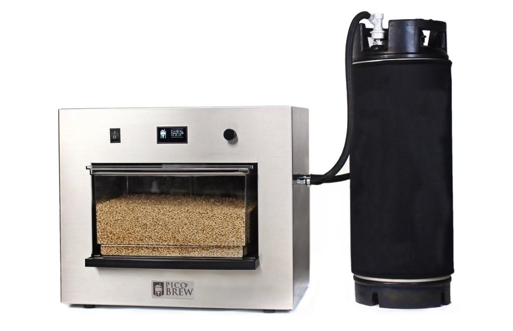 picobrew zymatic brewing robot
